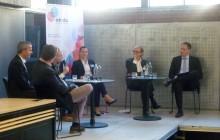 In mehreren Panels diskutierten die eingeladenen ExpertInnen über die gesellschaftlichen Herausforderungen von Big Data