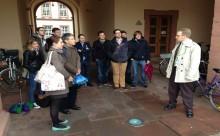 Schlossführung durch den Studiendekan der juristischen Fakultät der Universität Mannheim Prof. Dr. Brand