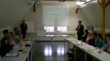 Diskussionrunde nach dem Vortrag